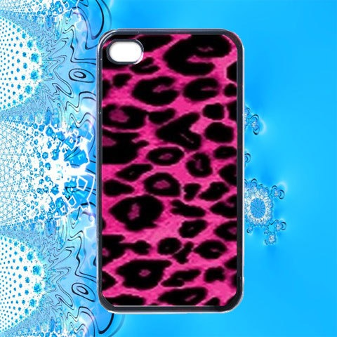 Pink Cheetah Skin iPhone 4 Case / iPhone 4s / iPhone 4 Cover