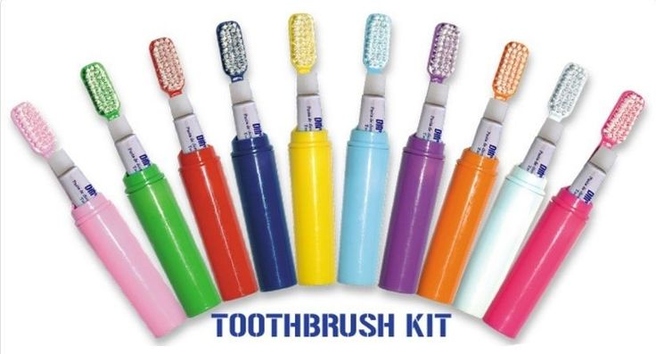 Difresh Toothbrush Kit is available in 10 different colors #Difresh