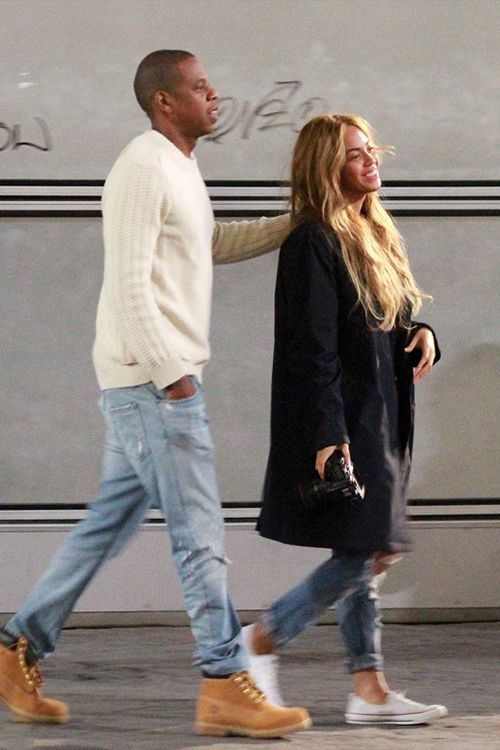 """beyoncefashionstyle: """"Beyoncé and Jay Z out and about in Florence, Italy (May 21st) """""""