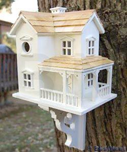 Home Bazaar Prairie Farmhouse Bird House at BestNest.com