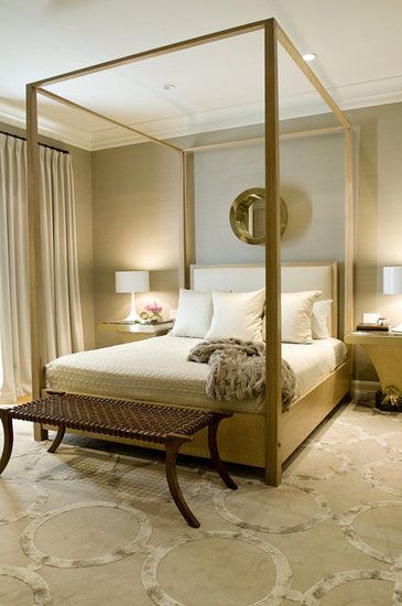 17 best images about mono chromatic bedroom ideas on pinterest for Monochromatic bedroom designs