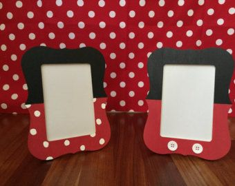 Mickey Mouse Picture Frame by ASTAcrafts on Etsy