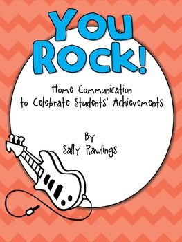 POSITIVE notes to send home for students who are ROCKING IT! **FREE** #TpT