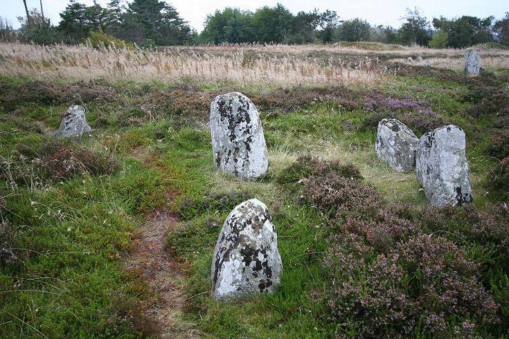 Tømmerby Vikingegravplads (burial site) in North Jutland, near Thisted