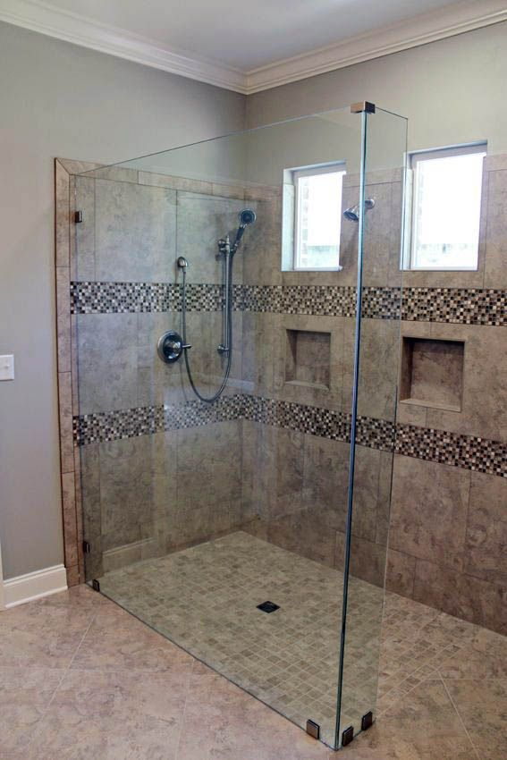 Superb Small Master Bathroom Ideas With Walk In Tile Shower No