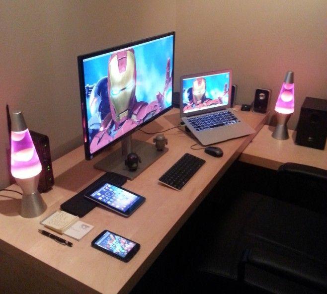 31 best images about workstation setups mac on pinterest for My home office setup