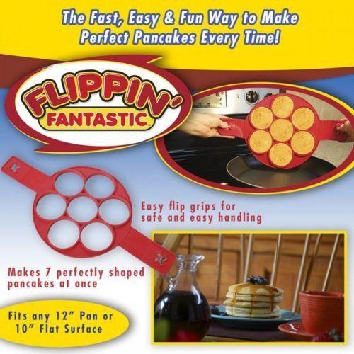 Non Stick Flippin' Pancake Maker (br)