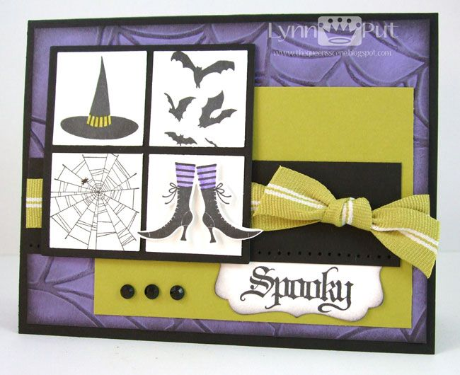 thequeensscene.blogspotSc297 Embellishments Colors, Colors Challenges, Crafts Ideas, Carts Halloween, Cards Ideas, Crafts Cards, Halloween Cards, Carts D Halloween, Stampin Up Cards