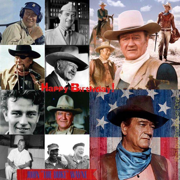 Happy Birthday  |Happy Birthday John Wayne