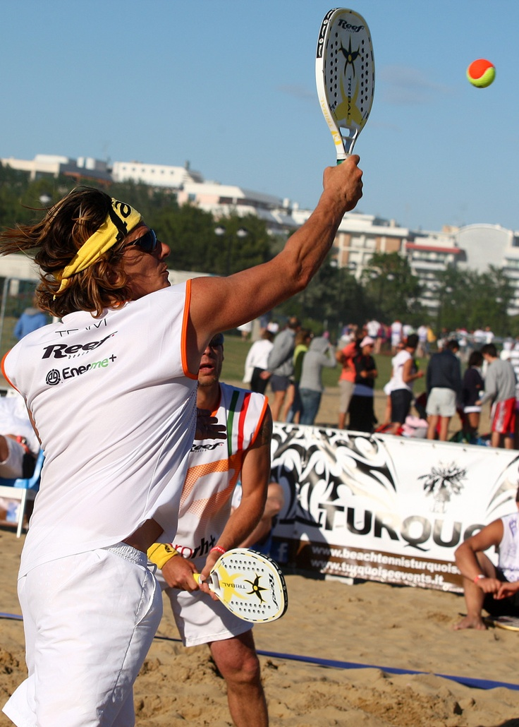 The Beach Tennis Marathon in Bibione