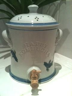 Porcelain Kombucha Crock – Happy Kombucha