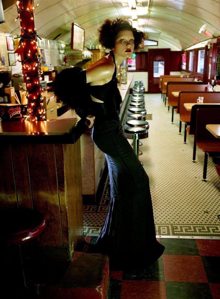 Jessica Stam + Steven Meisel + Vogue Italia