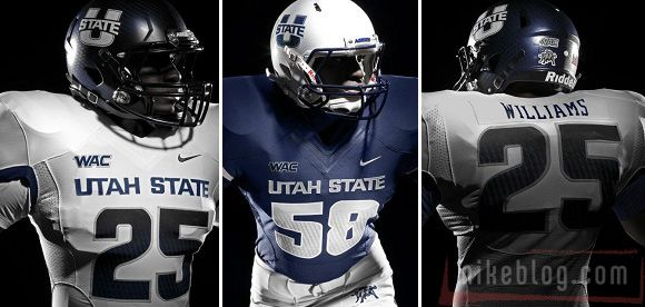 New College Football Uniforms: Utah StateStates Awesome, Discover Utah, States Football, Soccer Football, Conference Football, Colleges Football, College Football, Football Uniforms, Utah States