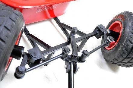 """Bollerwagen """"raZe"""" - Bollerwagen - individuelles & klassisches Design, in professioneller Handarbeit gefertigt"""