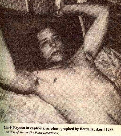 A victim of Robert Berdella, Chris Bryson, April 1988.