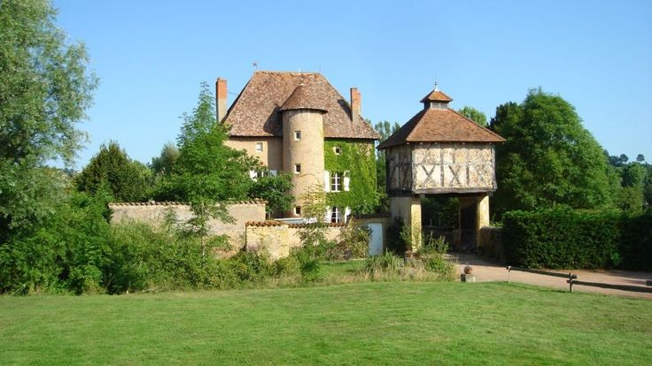 16th Century Bourguignon Style Moated Chateau in the Rhône Alpes