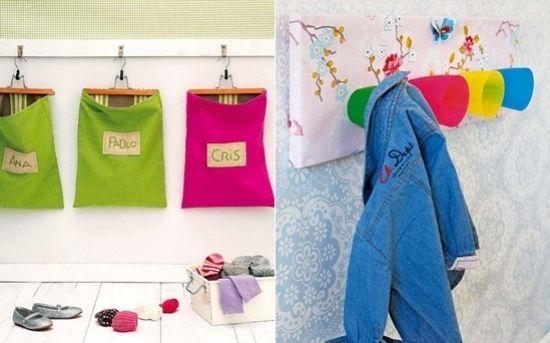 Kleiderhacken kinderzimmer design bastelideen n hen kinder zimmer kinderzimmer und kinder - Bastelideen kinderzimmer ...
