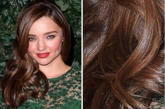Miranda Kerr hair color