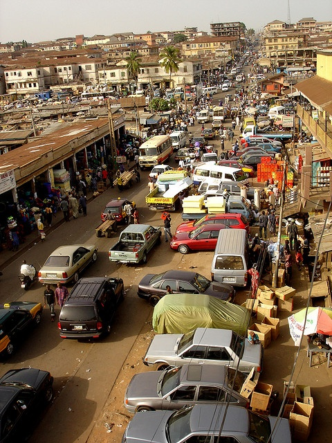 Kumasi, Ghana. I was here...and I have never loved anything more.