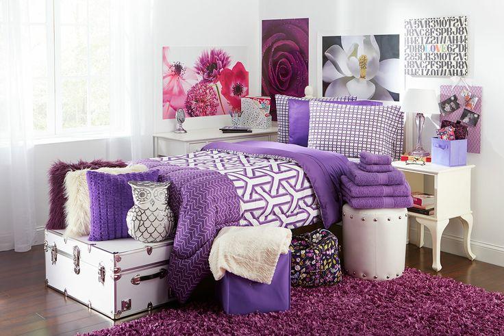 Purple Dorm Room D Cor Ideas