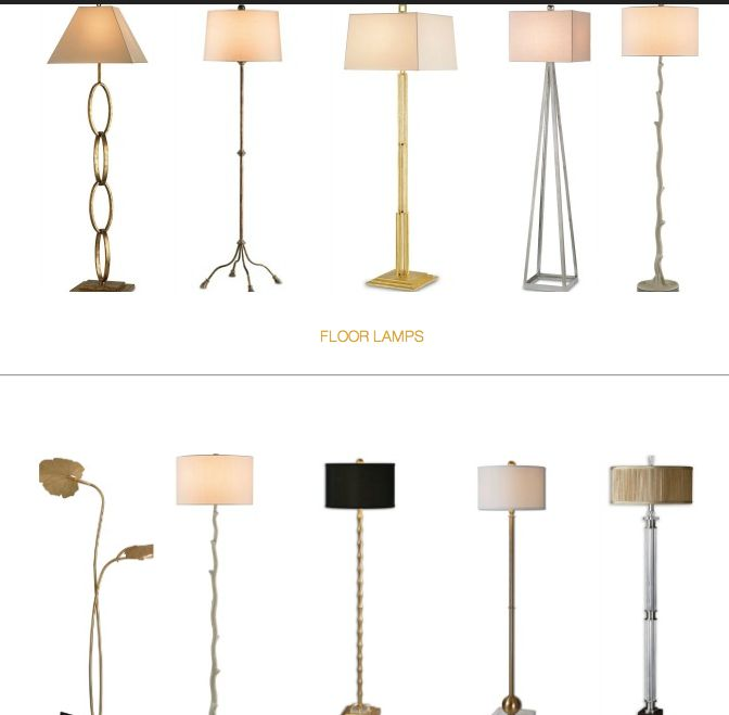 Great floor lamps at Shop Design Chic!