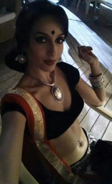 The hot and sexy Bollywood masala actress item girl and bigg boss india fame nora fatehi killing hot seducing erotic pic collection in which...