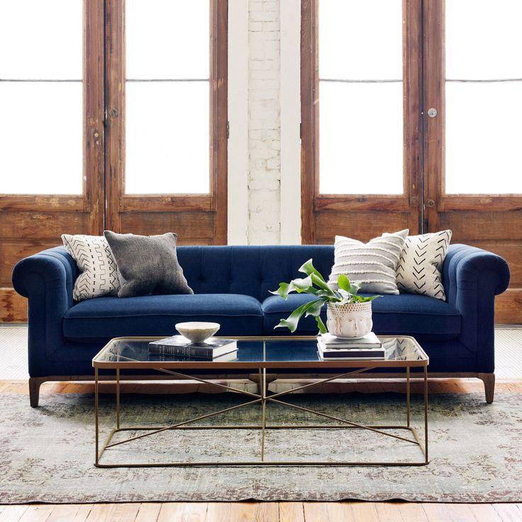 Sleeper Sofa Navy Blue: 1000+ Ideas About Navy Sofa On Pinterest