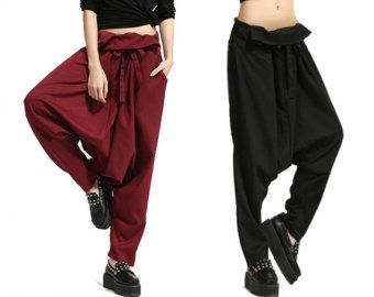 Woman Pants Harem Pants Stripe Pants Thai Pants by OurLittleDaisy