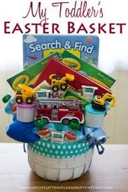 Best 25 easter baskets for toddlers ideas on pinterest easter easter basket for toddler boys search find book 2 coloring books 2 24 piece puzzles 2 dvds happy feet curious george 1 firetruck 3 negle Images