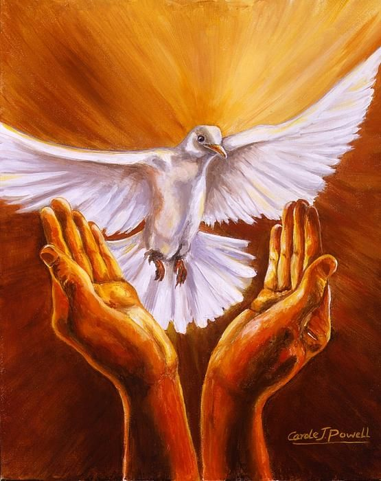 Come Holy Spirit by Carole Powell - Come Holy Spirit Painting - Come Holy Spirit Fine Art Prints and Posters for Sale