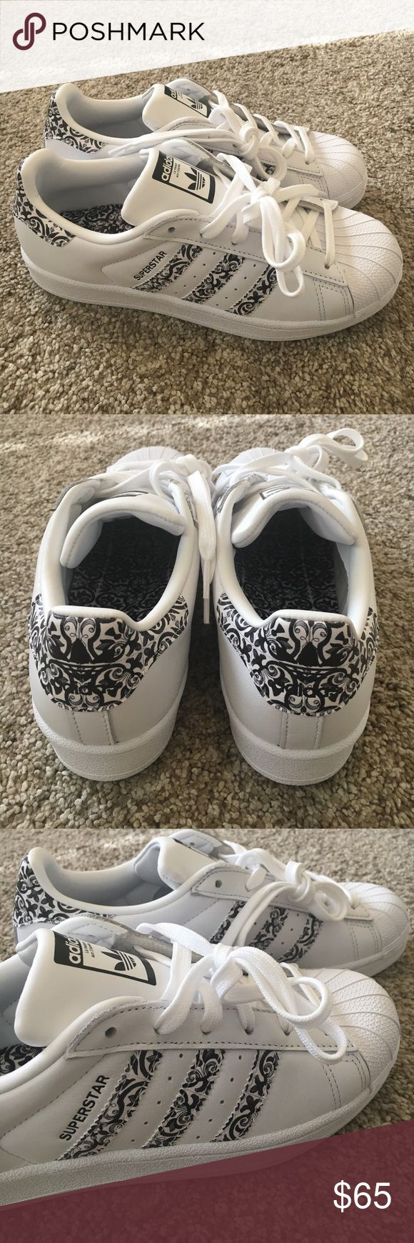 Adidas Superstars Brand new Adidas Superstar sneakers. Know your size in Adidas! These fit more like a women's US 7.5/8 adidas Shoes Sneakers