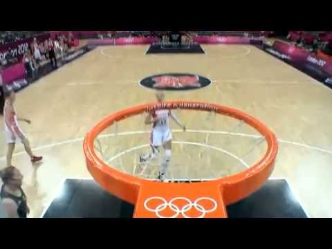 Liz Cambage Becomes First Woman To Dunk During Olympics Game