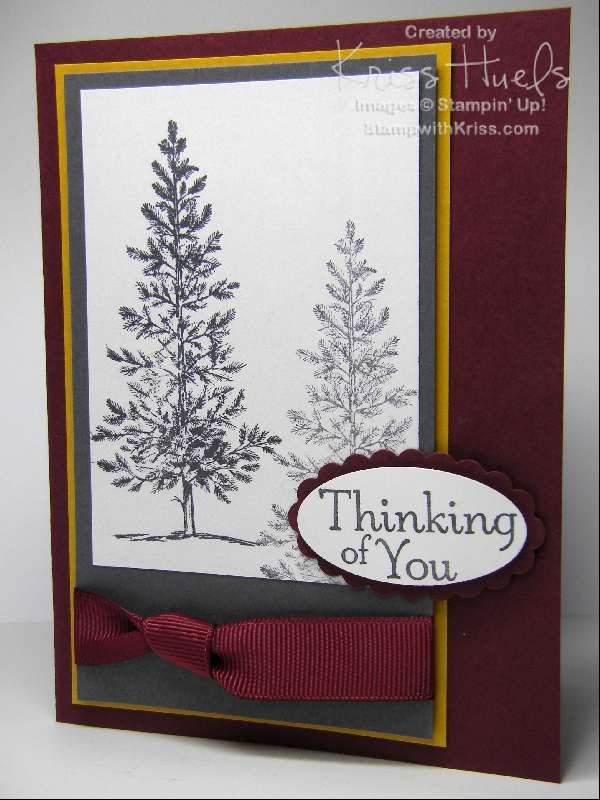 masculine style thinking of you or can be used for a sympathy card