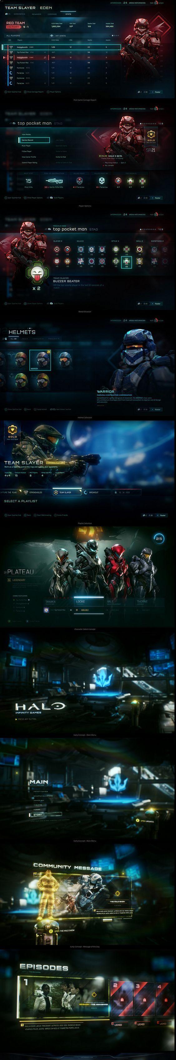ArtStation - Halo 5:...: