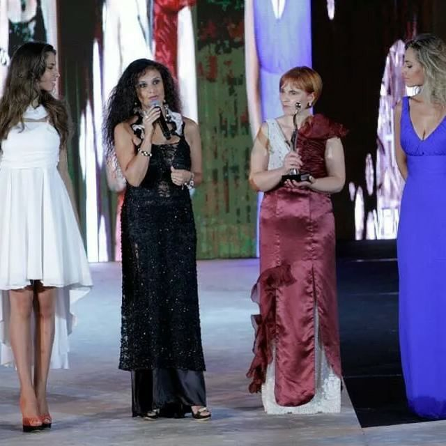 THE LOOK OF THE YEAR - Lead Jessica Polsky -  Stylist Francesca Surace - Actress Annamaria Spina