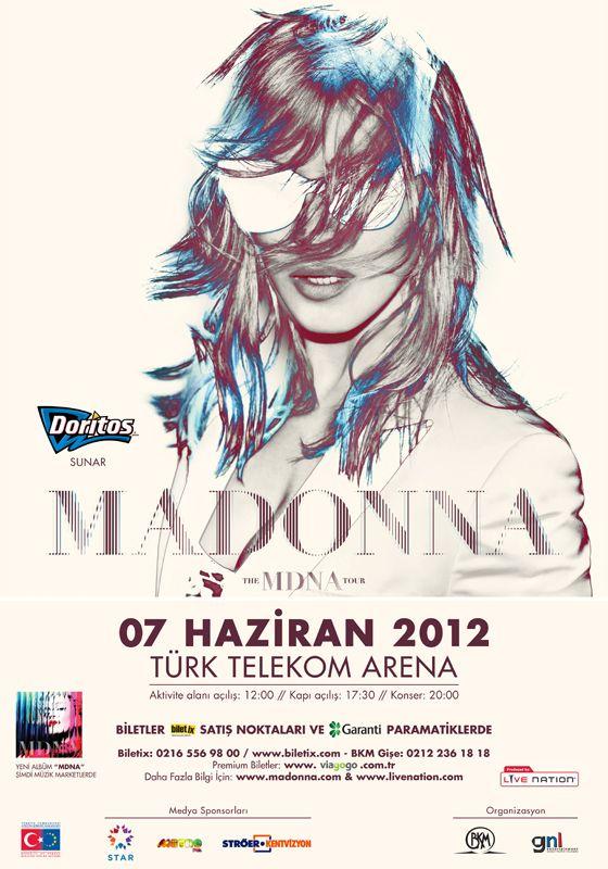 Madonna / 7 Haziran 2012