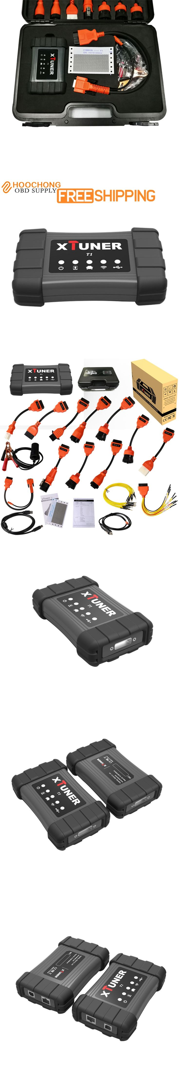 XTUNER T1 Heavy Duty Trucks Auto Intelligent Diagnostic Tool Support WIFI XTUNER T1