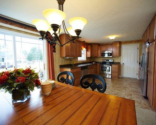 Akron medina oh brighton model kitchen