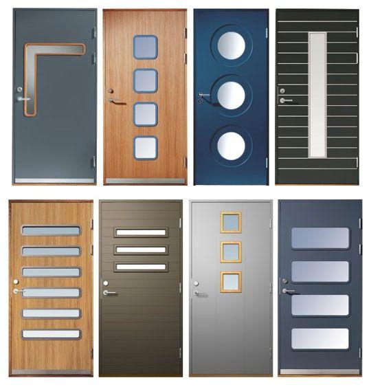 Various modern door designs . & 56 best door design images on Pinterest | Doors Front doors and ... Pezcame.Com