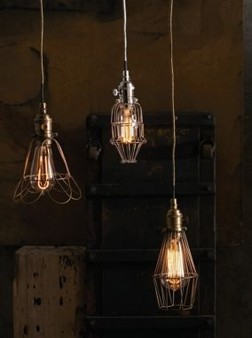 Workshop Cage Lamps