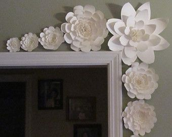Princess Paper Flower Backdrop-Large Paper by LavishInspirations