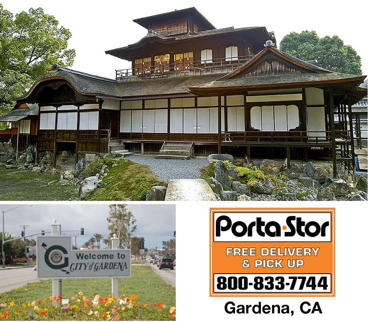 Need to Rent Portable Storage Containers in Gardena? Call Porta Stor at 1-800-833-7744 to Rent Portable Storage Containers in Gardena