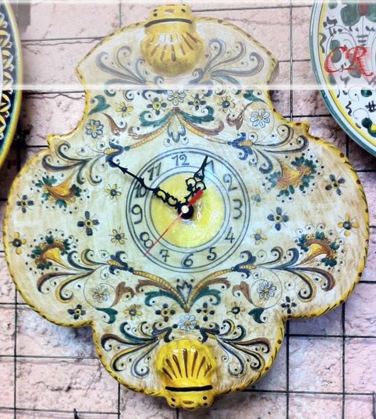 Orologio vaghezza e gentilezza   Ceramiche Rinascita