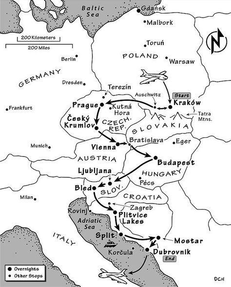 Eastern Europe Itinerary Where To Go In Eastern Europe By Rick