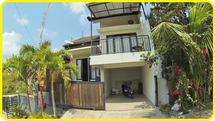 Дом с бассейном за 500€ на Бали | Индонезия, Бали [1080p]
