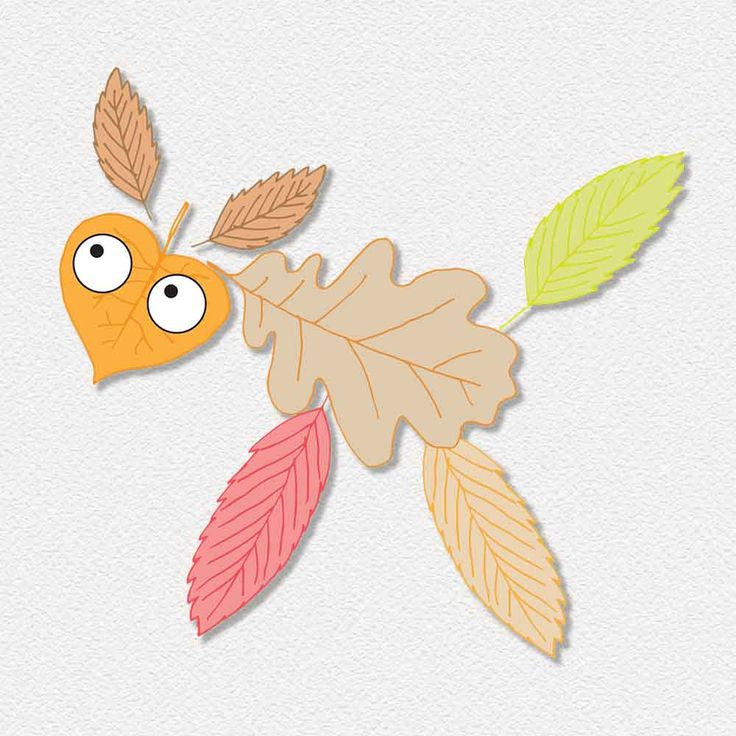 fall leaves animals - autumn activity free printable by pipasik
