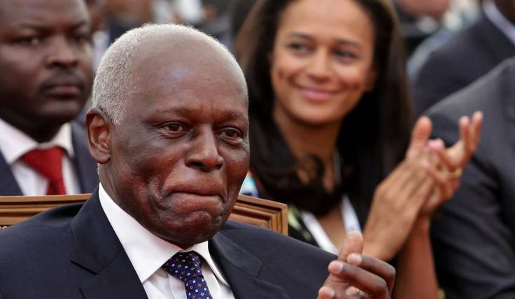 6/11/2016 ANGOLA: Angolan president, Jose Eduardo dos Santos, and his daughter Isabel dos Santos.