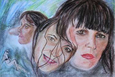"Saatchi Art Artist Margarita Makarova; Drawing, ""portrait of Julia"" #art"