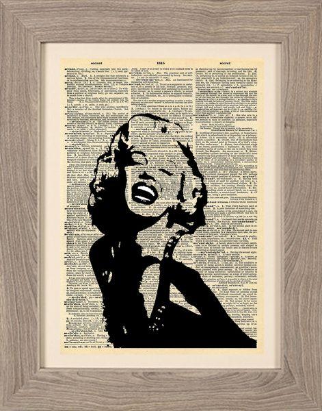 Cinematic+-+Stampa+Marilyn+risata+di+Stampe+Cinematografiche+di+Framenti+Design+su+DaWanda.com