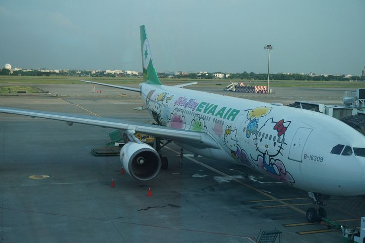 5R- 玩轉台北桃園國際機場 - Hello mimi 飛機
